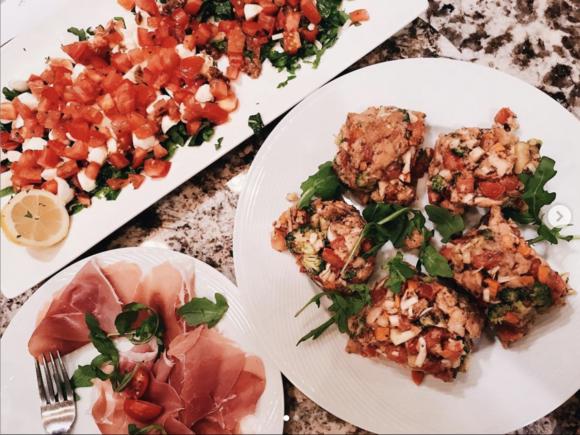 Italian Dinner Food